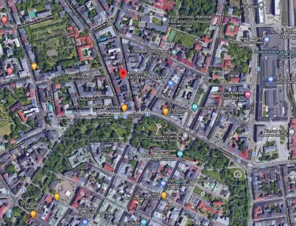 новое отделение money24 в Кракове